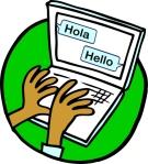 Bilingual Bloglingual logo